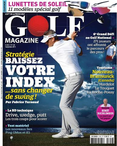 Golf Magazine - Septembre 2015