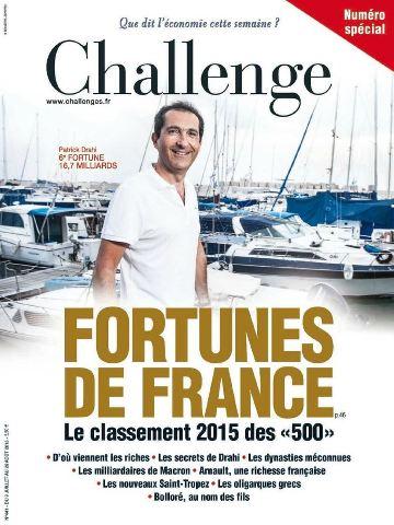 Challenges 441 - 9 Juillet au 26 Aout 2015