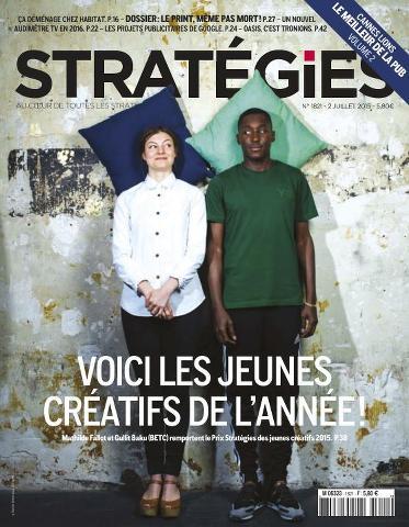 Stratégies - 2 Juillet 2015