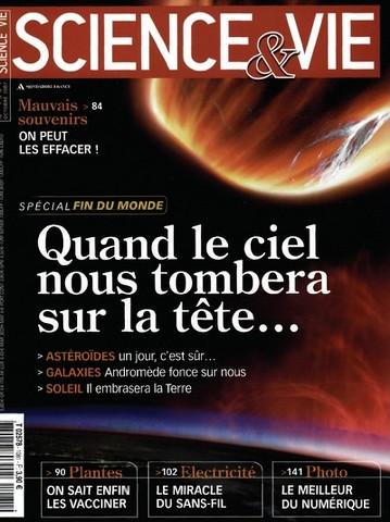Science et Vie 1081 - Spécial fin du monde