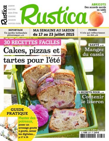 Rustica 2377 - 17 au 23 Juillet 2015