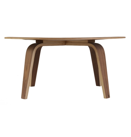 Eames style cocktail coffee table ctw midcentury 34 inch for Eames style coffee table