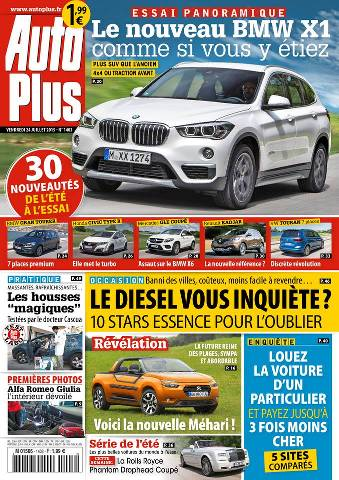 Auto Plus 1403 - 24 au 30 Juillet 2015