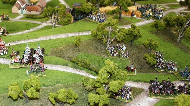 The battle of waterloo 200th anniversary game at wasp for Domon waterloo