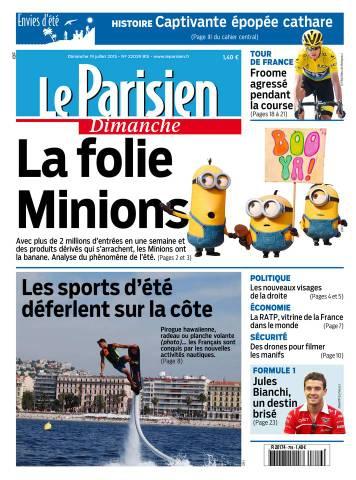 Le Parisien + Envies d'Été du Dimanche 19 Juillet 2015