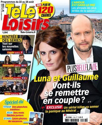 Télé Loisirs - 22 au 28 Août 2015
