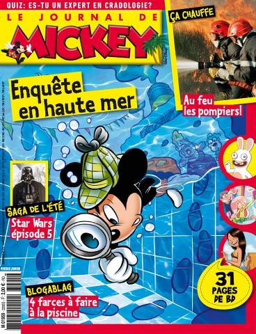 Le Journal de Mickey 3295 - 12 au 18 Août 2015