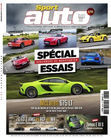 Sport Auto 643 - Août 2015