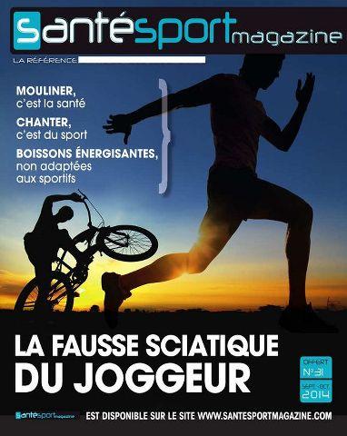 Santé Sport Magazine 31 - la fausse sciatique du joggeur.
