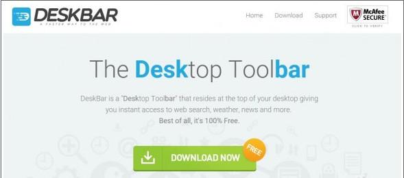 DeskBar Toolbar