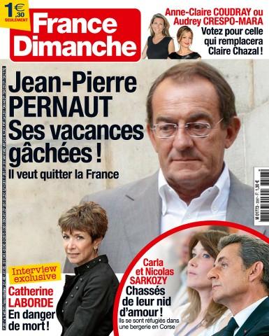 France Dimanche 3597 - 07 au 13 Août 2015
