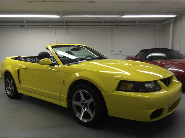 for sale 2003 cobra convertible zinc yellow ford mustang forums mustang forum. Black Bedroom Furniture Sets. Home Design Ideas