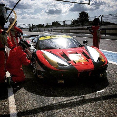 LMGTE Alessandro Pierguidi AT Racing Ferrari 458 Italia