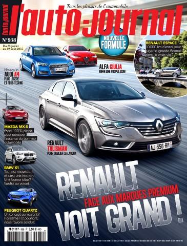 L'Auto Journal 938 - 23 Juillet au 19 Août 2015