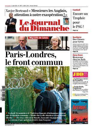 Le Journal du Dimanche 3577 du 2 aout 2015