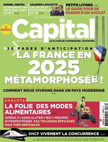 Capital 287 - Août 2015