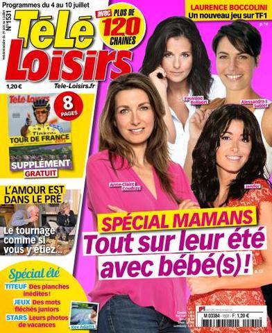 Télé Loisirs - 4 au 10 Juillet 2015
