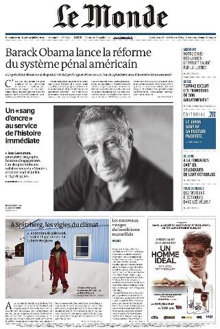 Le Monde du Dimanche 19 et Lundi 20 Juillet 2015