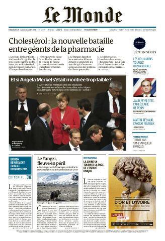 Le Monde du dimanche 26 et lundi 27 juillet 2015