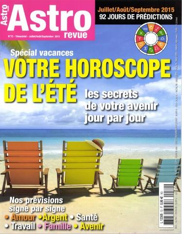 Astro Revue 72 - Juillet-Septembre 2015