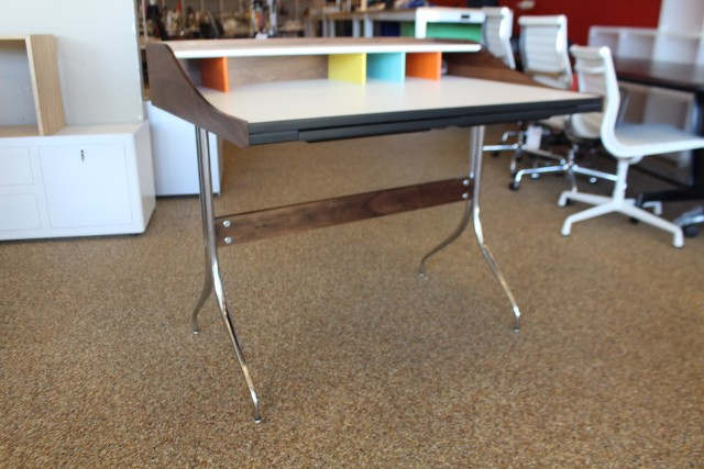 Nelson swag leg desk design within reach dwr mid century for Design within reach desk