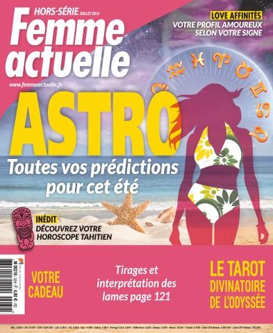 Femme Actuelle Hors-Série Astro 32 - Juillet 2015
