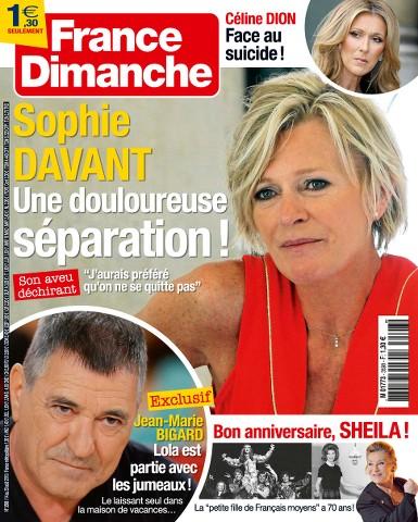 France Dimanche 3598 - 14 au 20 Août 2015