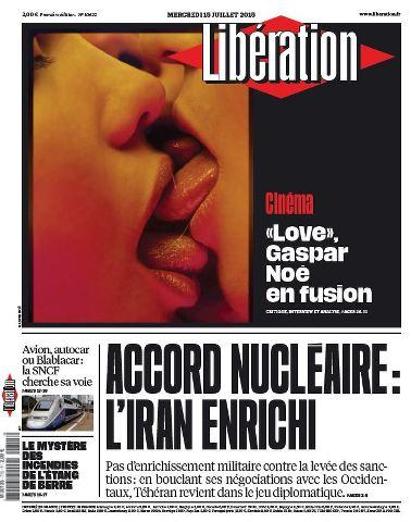 Libération du Mercredi 15 Juillet 2015