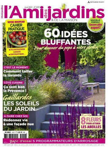 L'Ami des Jardins - Août 2015