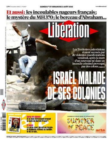 Liberation WEEK-END - Samedi 1 et Dimanche 2 Aout 2015