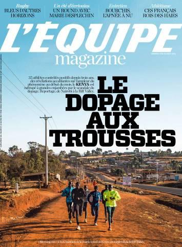 L'Equipe Magazine 1726 du Samedi 15 Août 2015