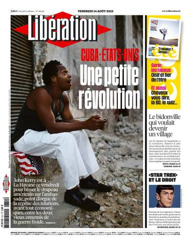 Libération du Vendredi 14 août 2015
