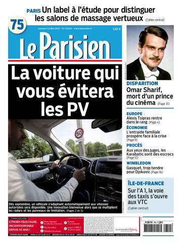 Le Parisien + journal de Paris du Samedi 11 Juillet 2015