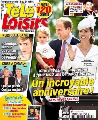 Télé Loisirs 1533 - 18 au 24 juillet 2015