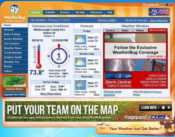 how to delete weatherbug locations