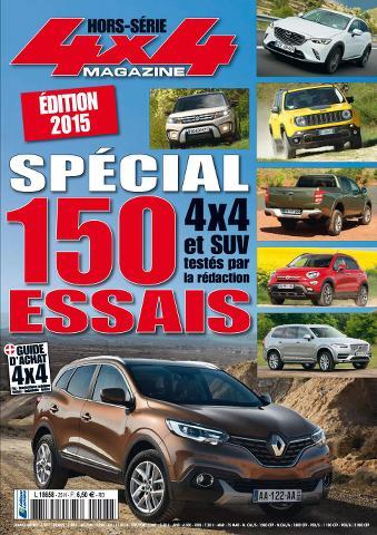 4x4 magazine Hors-Série 28 - Edition 2015