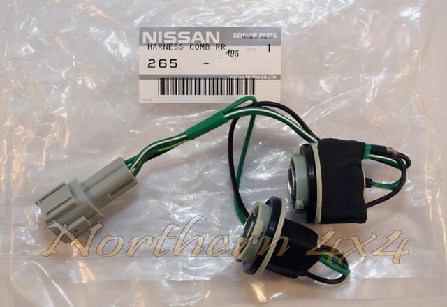 Nissan Patrol Tail Light Wiring Harness : Nissan patrol gu rear tail light harness lower quarter
