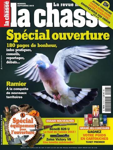 La Revue Nationale de la Chasse - Septembre 2015