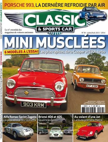 Classic & Sports Car 34 - Juillet 2015