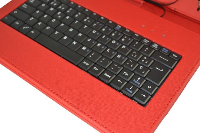 Copertura con tastiera per tablet asus smart memopad 10 1 rimovibile ebay - Tastiera del letto ...