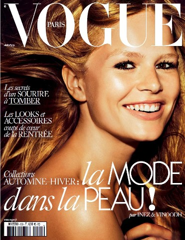 Vogue Paris - Août 2015