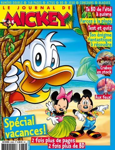 Le Journal de Mickey 3289-3290 - 1er au 7 Juillet 2015