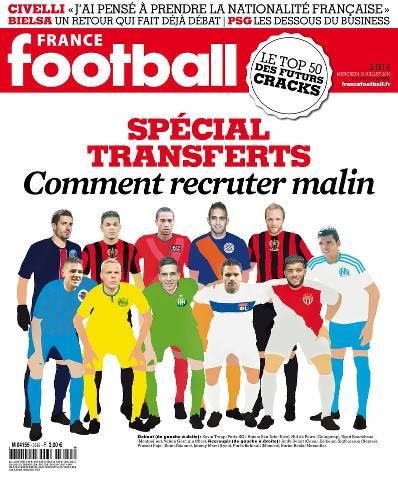 France Football 3612 du mercredi 15 juillet 2015