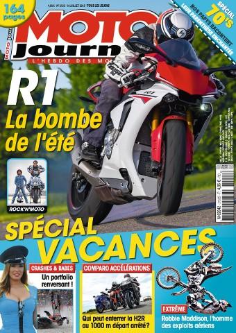 Moto Journal 2155 - 16 au 22 Juillet 2015