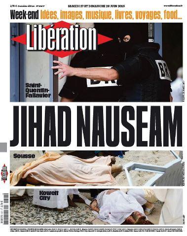 Libération du Samedi 27 et Dimanche 28 Juin 2015