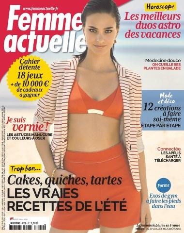 Femme Actuelle 1609 - 26 Juillet au 2 Aout 2015