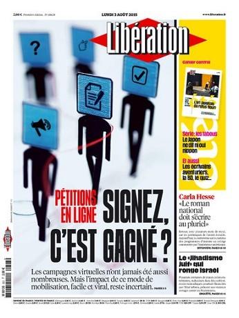 Liberation Du Lundi 03 Aout 2015