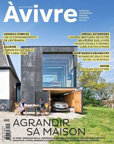 Architectures à Vivre 85 - Juillet-Aout 2015
