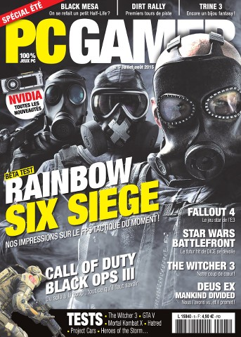 PC Gamer 5 - Juillet-Aout 2015