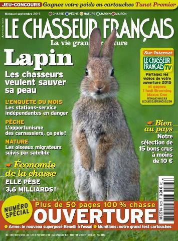 Le Chasseur Français - Septembre 2015